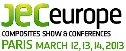 JEC Europe from March 12 to 14 2013 in Paris